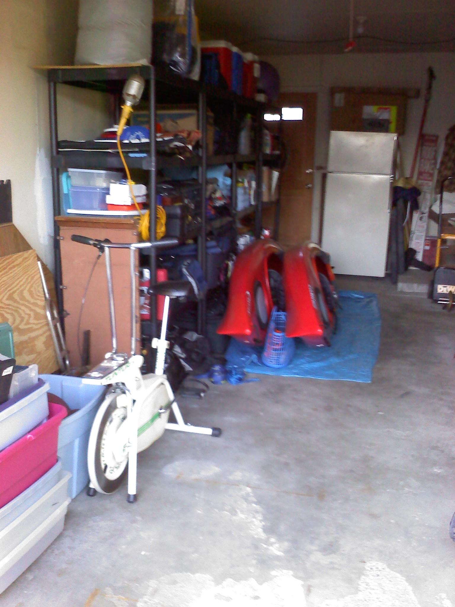 Garage (Left) AFTER