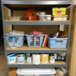 Storage Shelf on Left