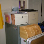Filing Cabinets were brimming with papers